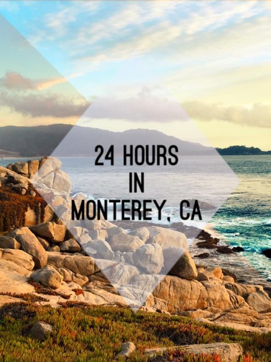 24 Hours in Monterey, CA | www.paisleyandfig.com