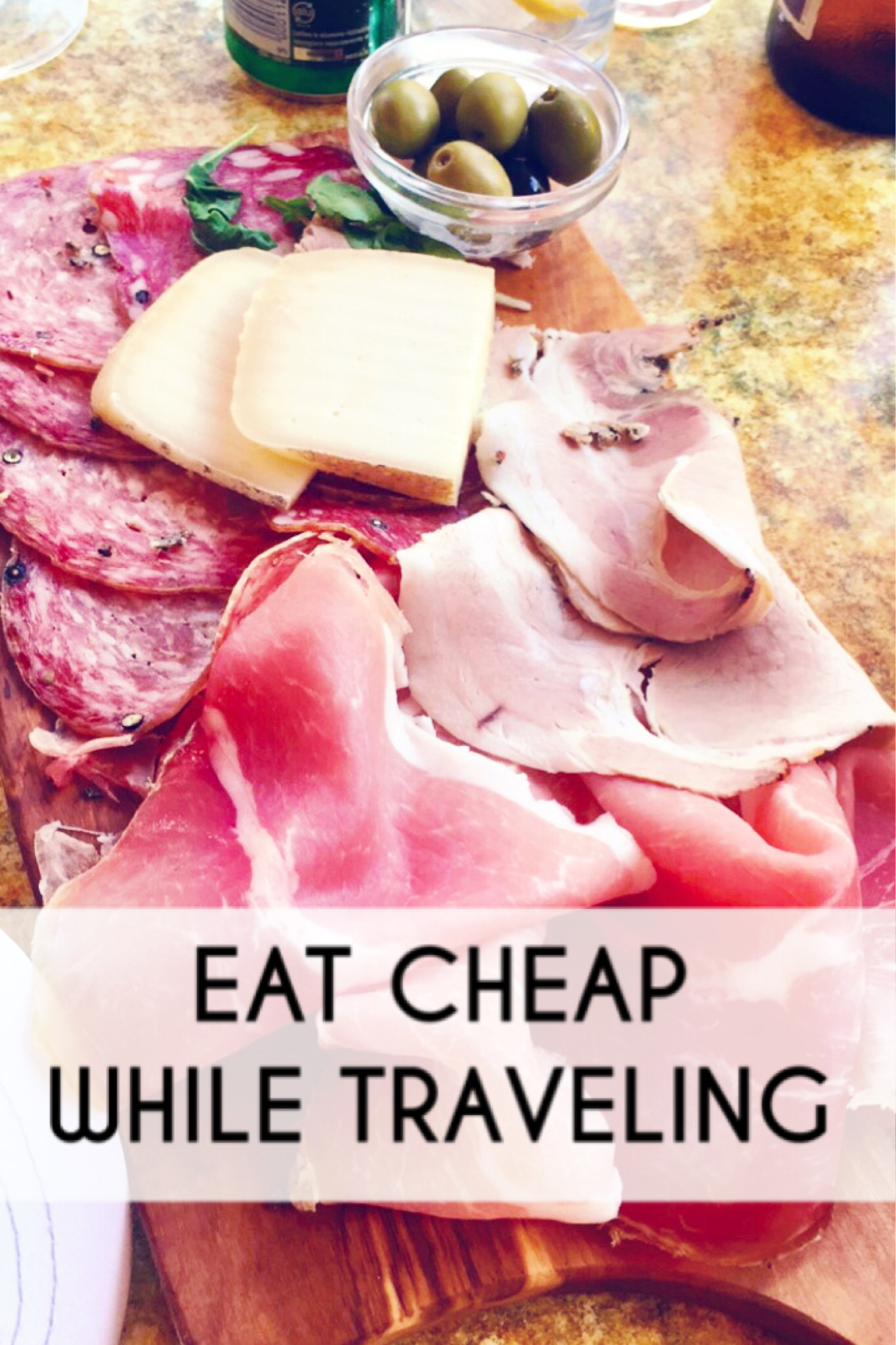 Eat Cheap While Traveling | www.paisleyandfig.com