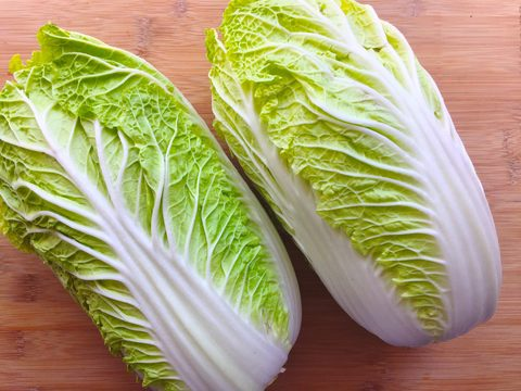 napa cabbage for easy vegan kimchi recipe