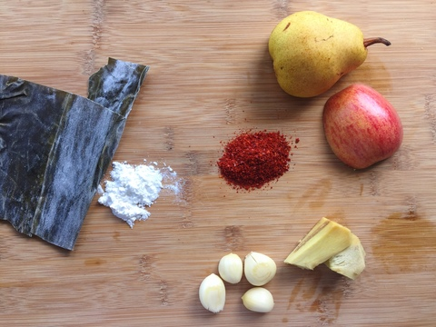 easy vegan kimchi paste ingredients